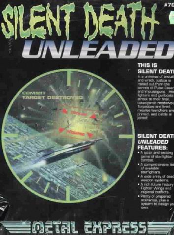 Silent Death Unleaded Boxed Set Cover