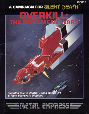 Overkill: The Ptolemean Wars Cover