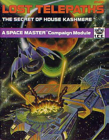 Lost Telepaths, The Secret of House Kashmere Cover