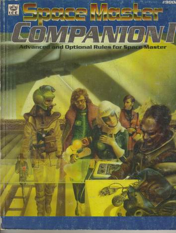 Space Master Companion I Cover