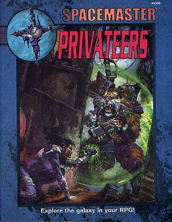 Space Master: Privateers Cover
