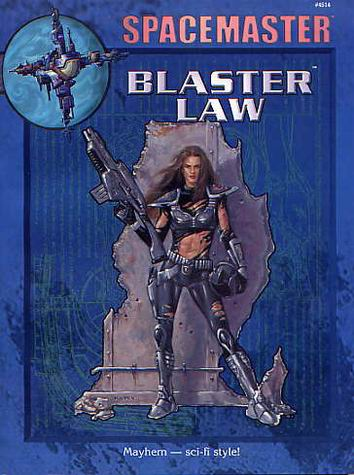 Blaster Law Cover