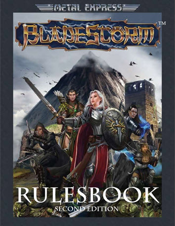 Bladestorm Rulesbook 2nd Edition Cover