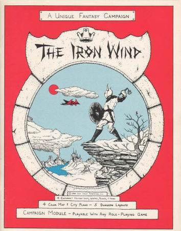 Iron Wind (1st Ed. Second Printing) Cover