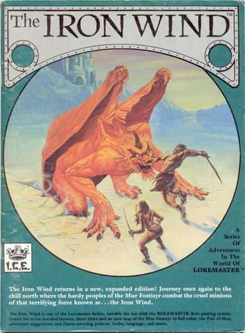 Iron Wind (2nd Ed.) Cover