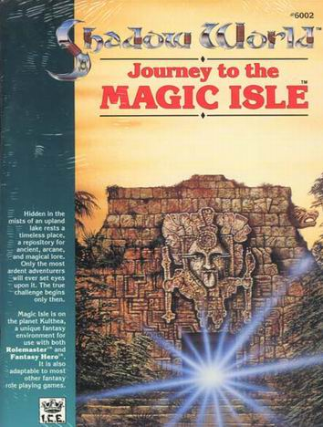 Journey to the Magic Isle Cover
