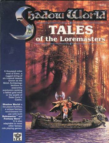 Tales of the Loremasters, Book I Cover