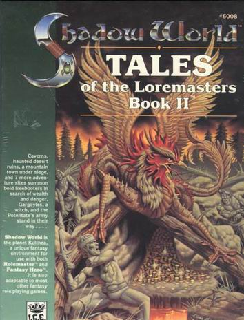 Tales of the Loremasters, Book II Cover