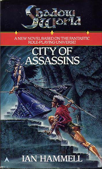Shadow World (Book 3): City of Assassins Cover