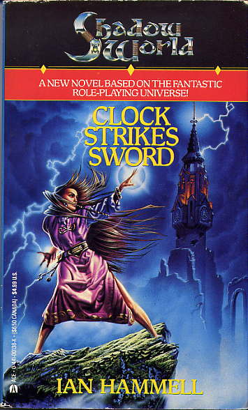 Shadow World (Book 2): Clock Strikes Sword Cover