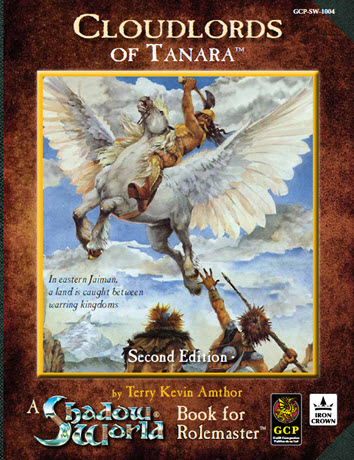 Cloudlords of Tanara - Second Edition Cover