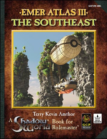 Emer Atlas III - The Southeast Cover