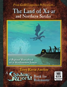 Shadow World: The Land of Xa-ar Cover