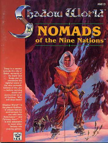 Nomads of the Nine Nations Cover