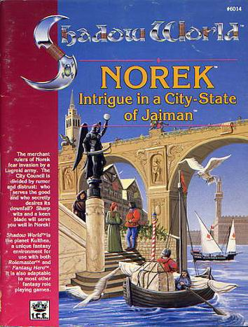 Norek, Intrigue in a City-State of Jaiman Cover