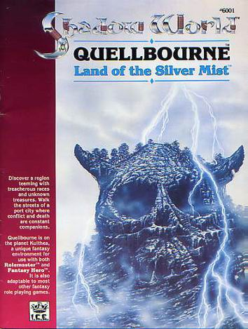 Quellbourne, Land of the Silver Mist Cover