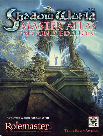 Shadow World Master Atlas Second Edition Cover