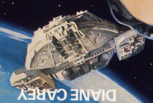 Galactica on Cover of Ghost Ship