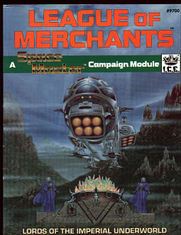 League of Merchants, Lords of the Imperial Underworld Cover